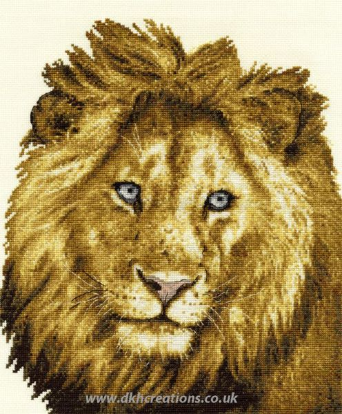 Heart Of A Lion Cross Stitch Kit